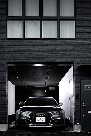 快適に、安心・安全に過ごせる、賃貸ガレージハウス