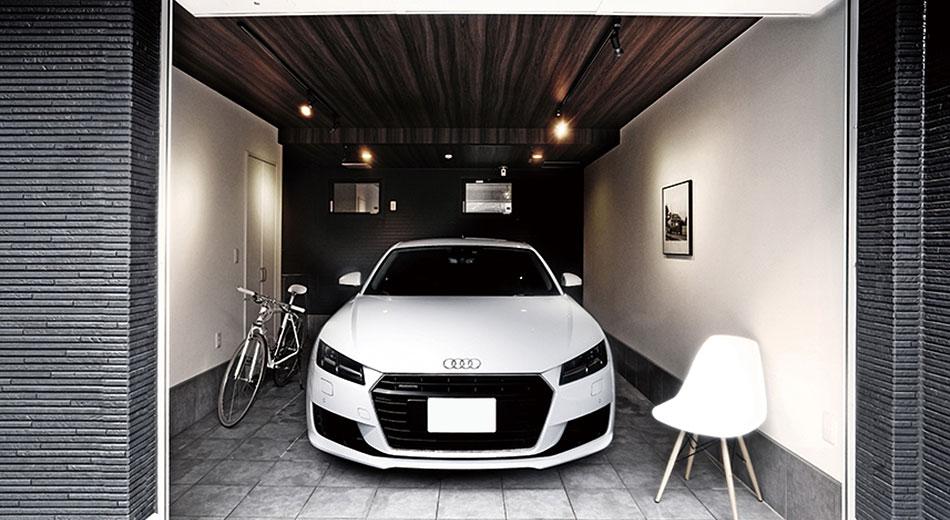 かっこいい 賃貸 ガレージハウス