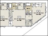 incell 花畑 Floor plan