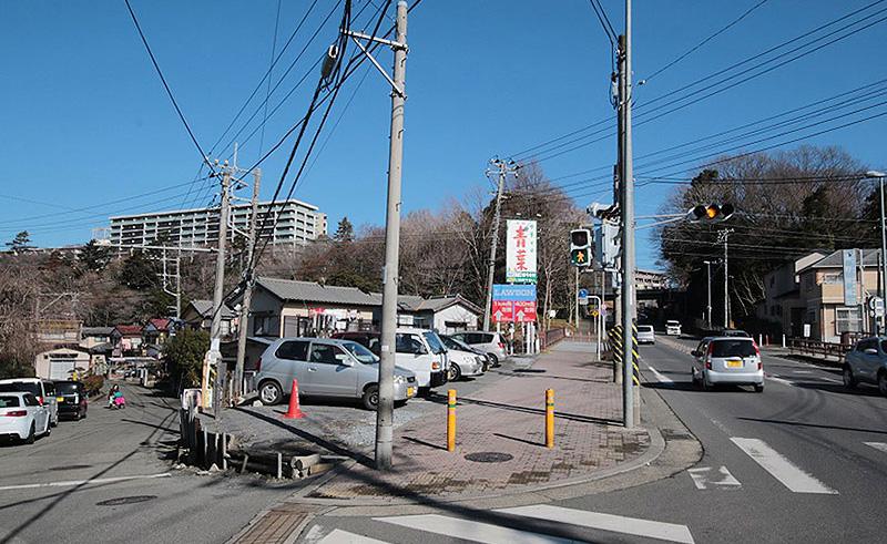 ガレージハウス周辺の景観イメージ